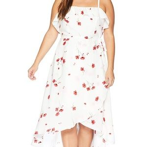 City chic plus size casual Dress